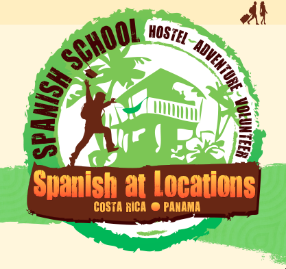 Spanish at locations Bocas del Toro
