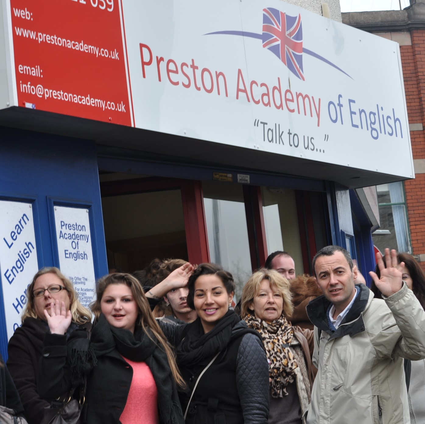 Preston Academy of English